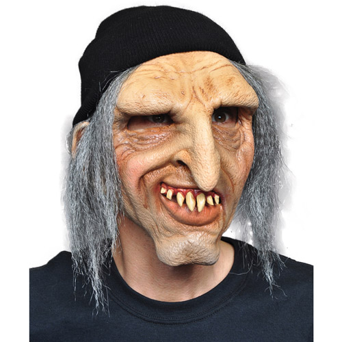 Scary Adult Halloween Latex Mask Accessory