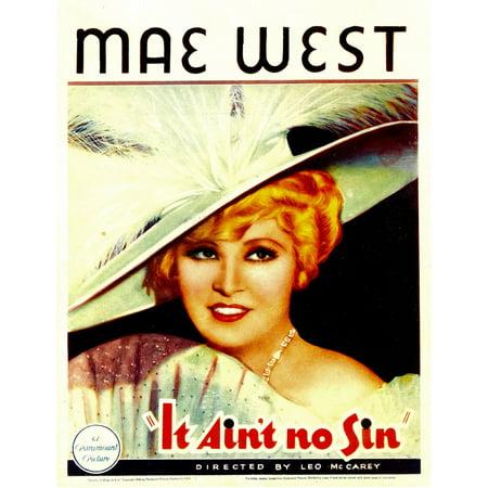 Belle Of The Nineties Mae West 1934 Movie Poster Masterprint