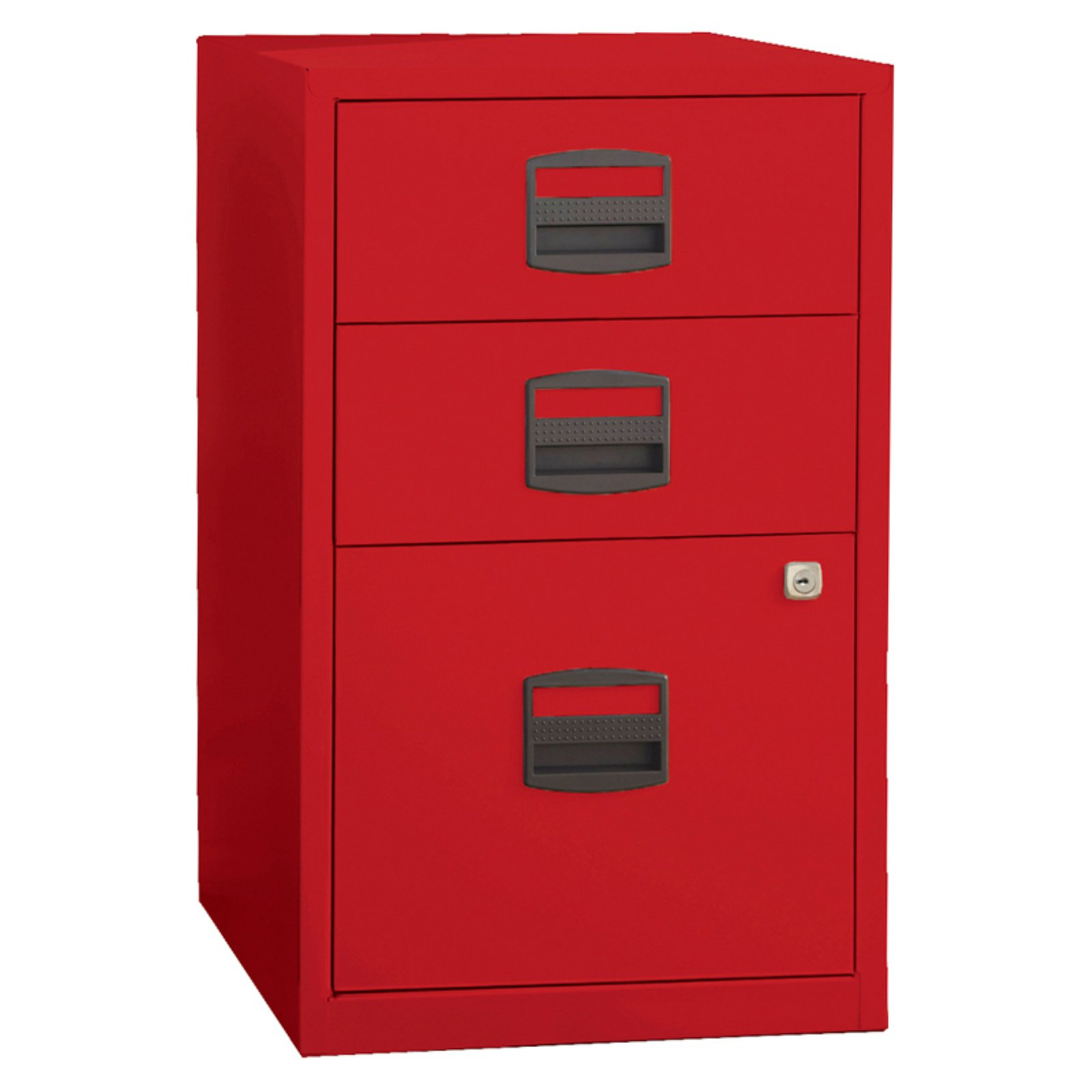 Bisley Three Drawer Steel Home Or Office Filing Cabinet   Walmart.com