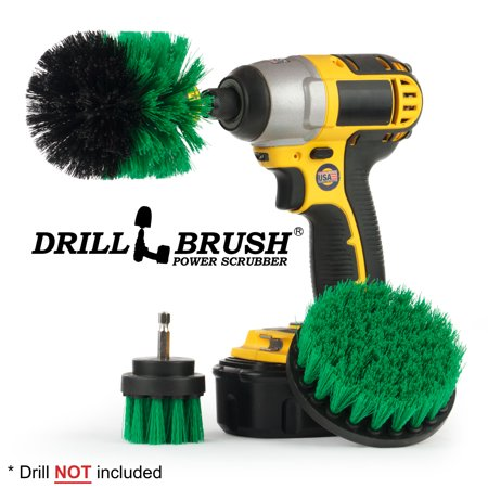 All Purpose Bathroom Surfaces Shower, Tub, and Tile Power Scrubber Brush Cleaning Kit Shower Kit Brush