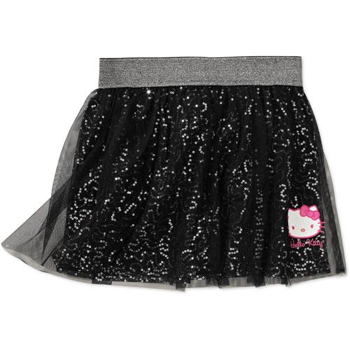 Hello Kitty Girls' Layered Tutu Skirt