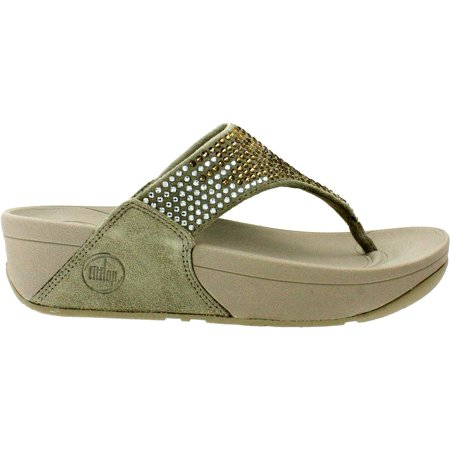 e5222f5d80d FitFlop - FitFlop Womens Flare Leather Thong Flip Flop
