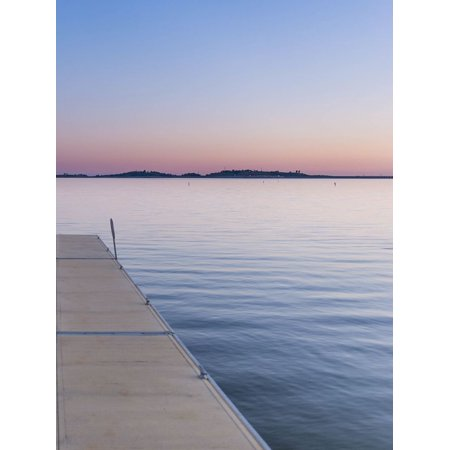 Sweet Silent Sunset Poster Print by Wil Stewart