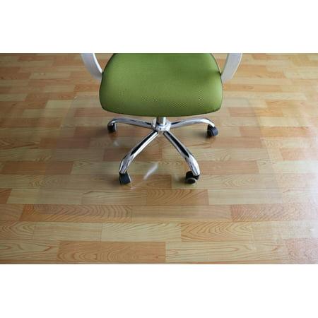 """Ktaxon 59"""" x 48"""" PVC Chair Floor Mat Home Office Protector For Hard Wood Floors"""