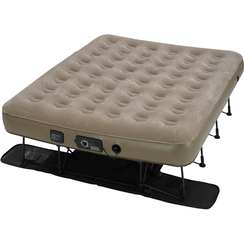 Insta bed EZ Air Bed with NeverFlat AC Pump Queen