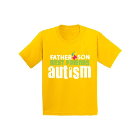 Awkward Styles Father Son Best Friends Autism Youth Shirt Kids Autism  Awareness Shirt Autism Puzzle Piece T Shirt Autistic Pride Gifts for Boys  Father