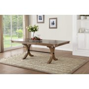 ACME Harald Extendable Dining Table in Gray Oak Finish