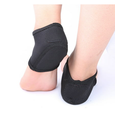 1 Pair Plantar Fasciitis Foot Pain Relief Sleeve, Heel Moisturizing Socks Ankle Protectors Therapy Wraps for Men