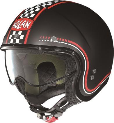 Nolan N21 Lario Helmet Flat Black/Red