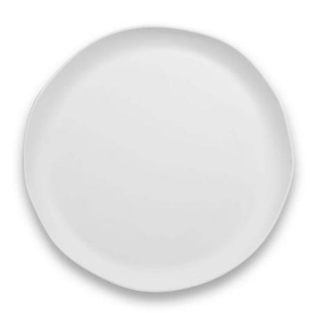 LIFE HAPPENS - MELAMINE MATTE CRAFT COUPE ROUND PLATTER - Fine China Round Platter