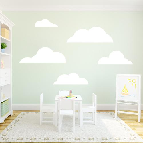 Sweetums Set of Clouds Wall Decals