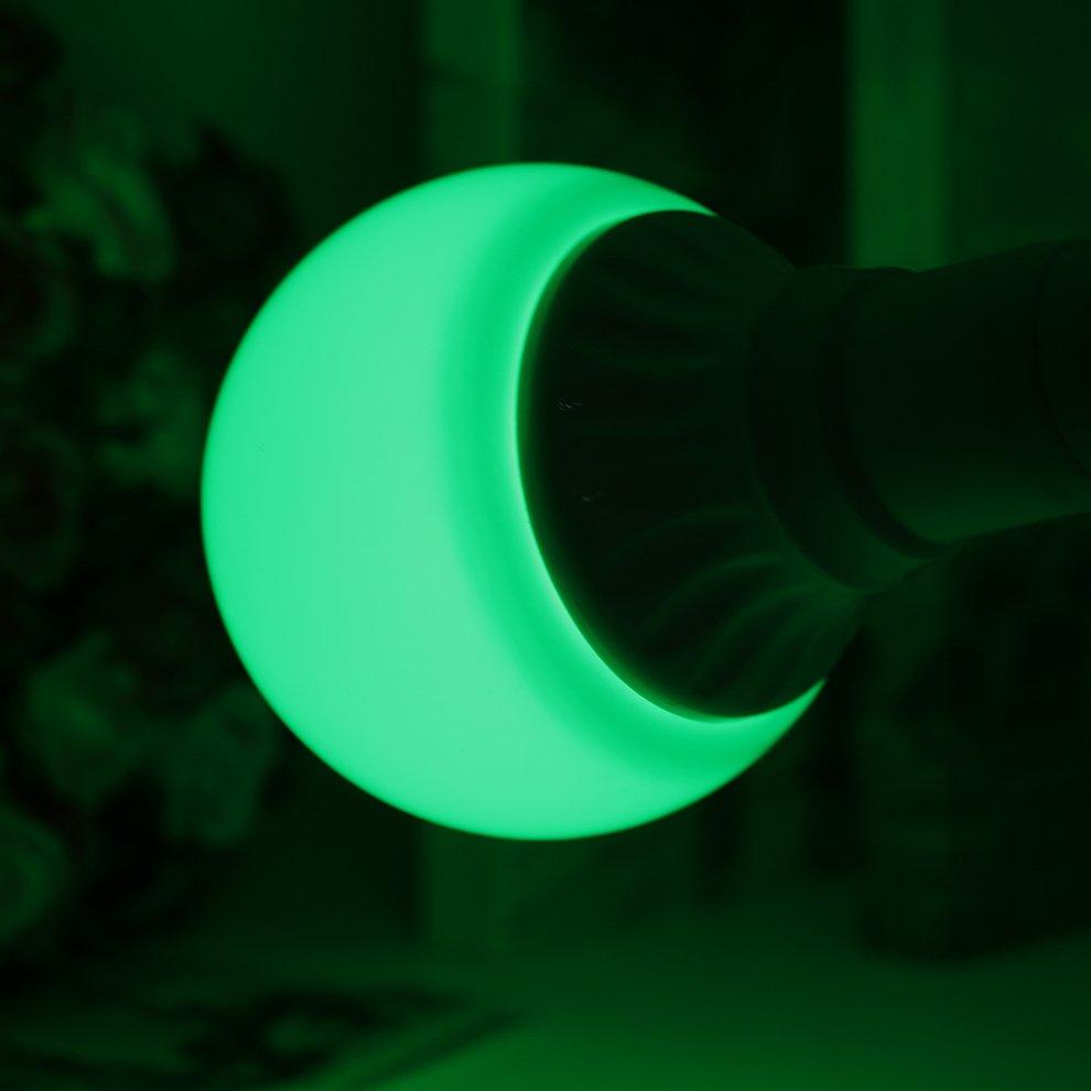 360° Beam Angle E27 3W 5W 7W 9W 12W LED Big Ball Bulb Light 220V Green