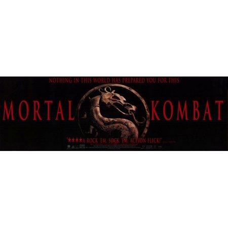 Mortal Kombat (1995) 11x17 Movie Poster (Mortal Kombat Movie Poster)