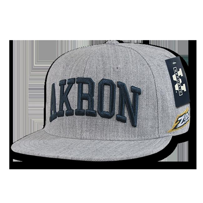 W Republic Game Day Fitted Akron, Heather Grey - Size 6.88 - image 1 de 1