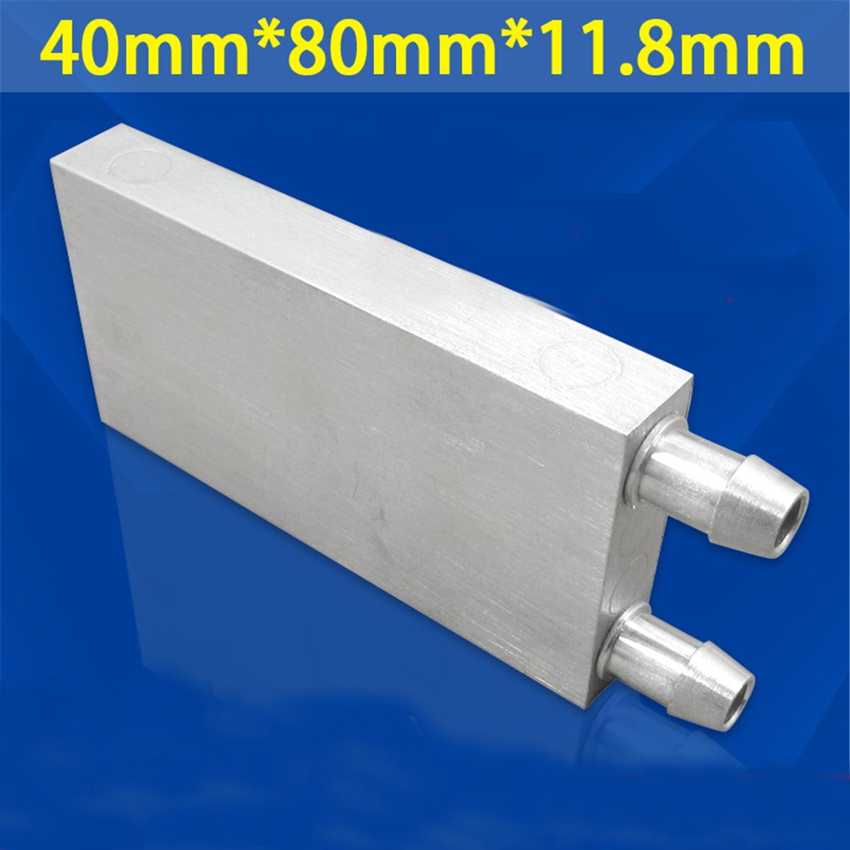 1Pcs Aluminum Water Cooling Block High Temperature Resistant Water Cooling Head