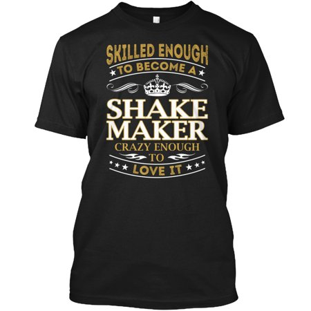 shake maker skilled enough hanes tagless tee t shirt