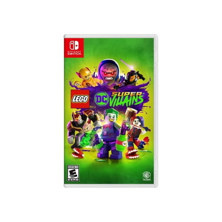 LEGO DC Supervillains, Warner Bros, Nintendo Switch, 883929632978