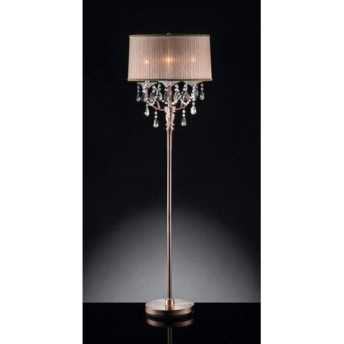 ROSIE CRYSTAL FLOOR LAMP