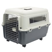 Kennels Direct Premium Plastic Dog Kennel and Travel Crate, Medium
