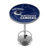 NHL Chrome Pub Table - Watermark - Vancouver Canucks