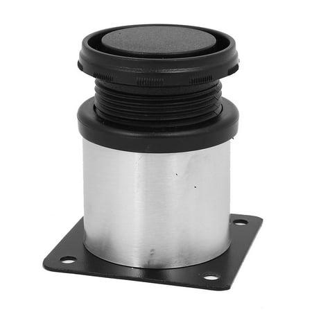 Kitchen Furniture Cabinet Adjustable Feet Leg Round Stand 50mm x 60mm 10PCS - image 2 of 3