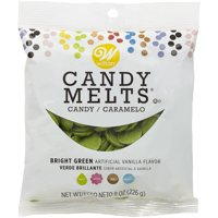 (4 Pack) Wilton Bright Green Candy Melts Candy, 8 oz.