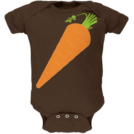 Halloween Vegetable Carrot Costume Soft Baby One Piece