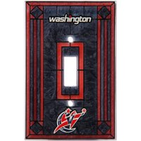 Washington Wizards Art Glass Switch Cover - No Size