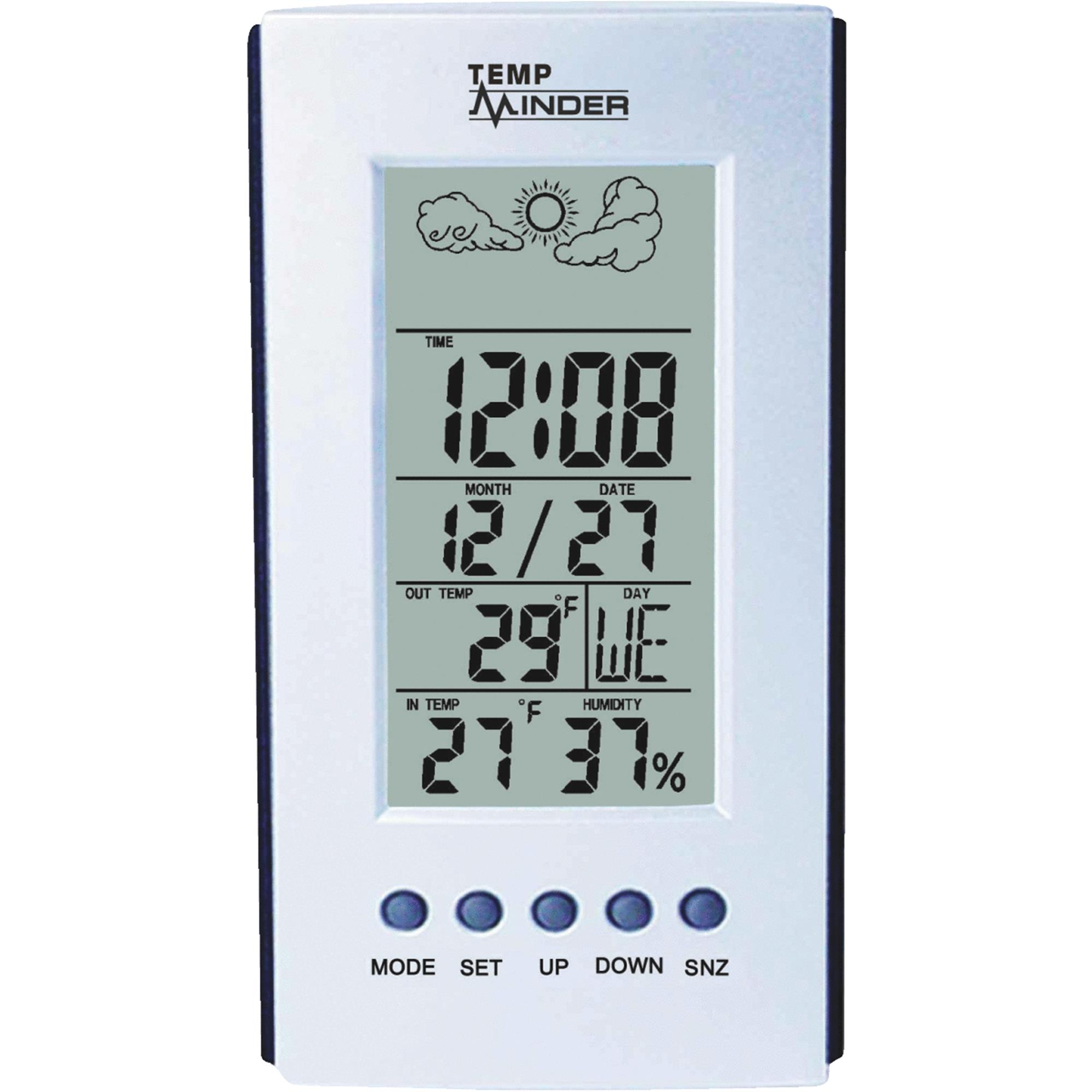 Temp Minder Full Featured Weather Station by Minder Research