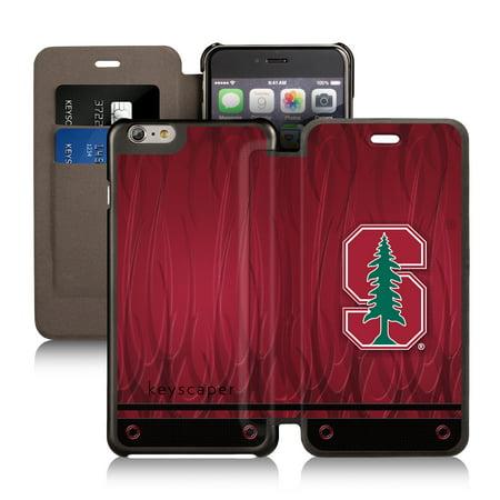 Stanford Cardinal Apple iPhone 6 Plus Wallet Case by Keyscaper