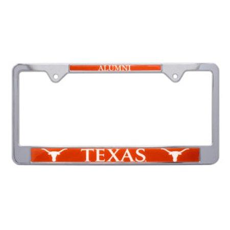 University of Texas Alumni License Plate Frame (License Plate Frames Texas)