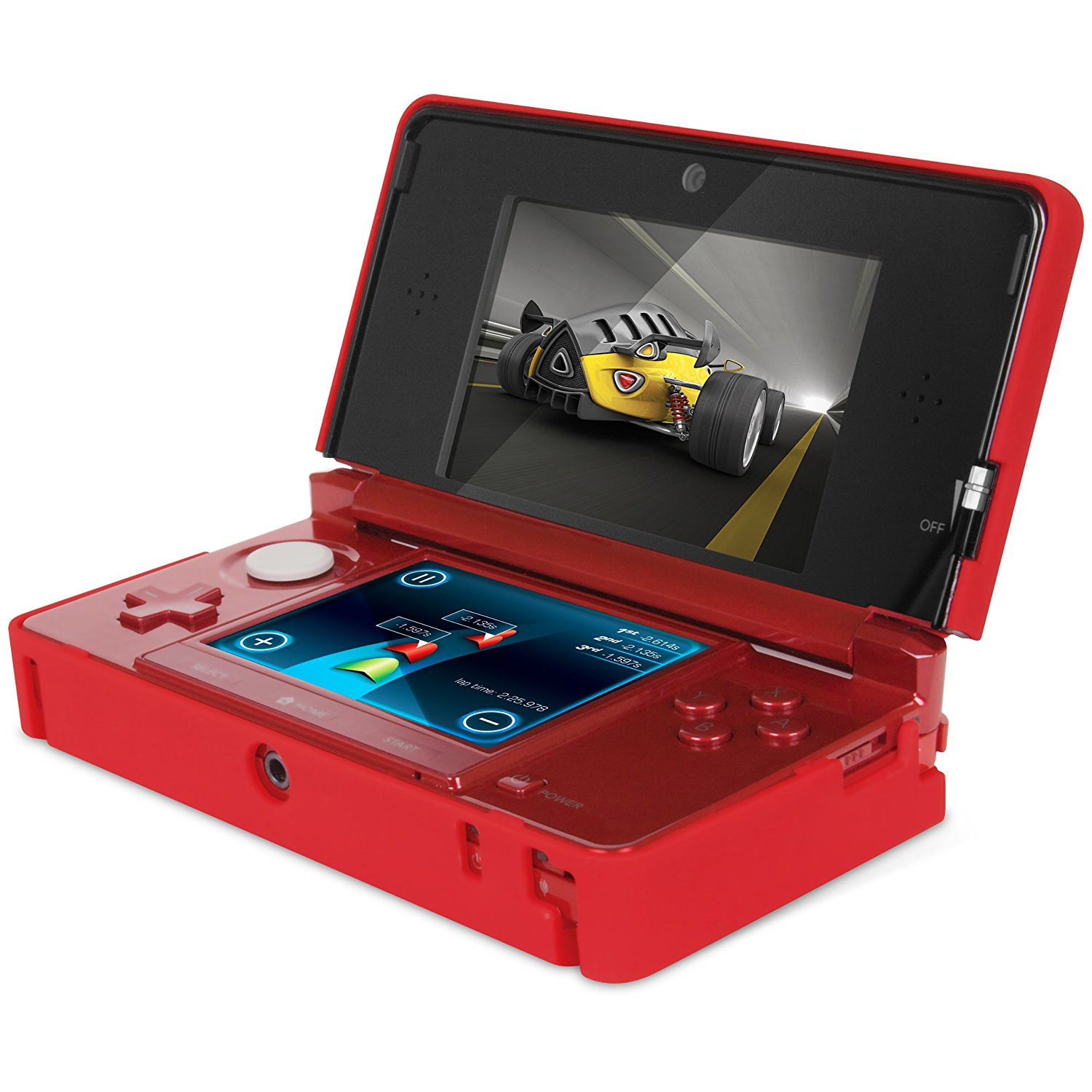 dreamGEAR Nintendo 3DS Power Case Red