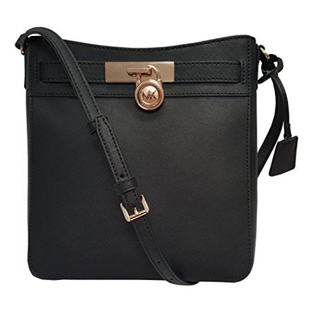 Michael Kors Hamilton Traveler Messenger Safiano Leather Crossbody Bag (Organized Travelers Leather)