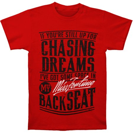 Miss Fortune Men's Chasing Dreams T-shirt Red