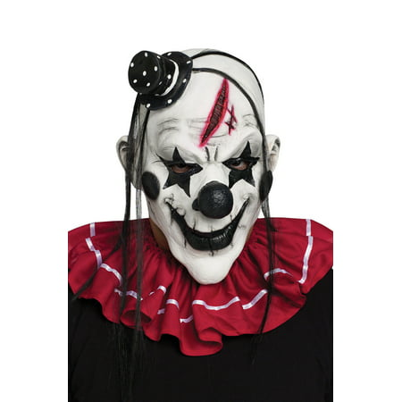 Vintage Clown Mask (Horror Clown Adult Mask)