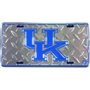 University Of Kentucky Diamond Embossed License Plate