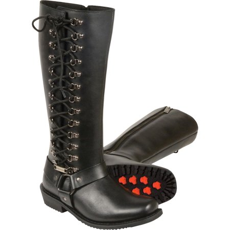 Square Toe Harness Boot (Milwaukee Leather Women's 14