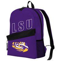 "NCAA LSU Tigers ""Crossline"" Backpack, 16.5"" x 6"" x 12"""