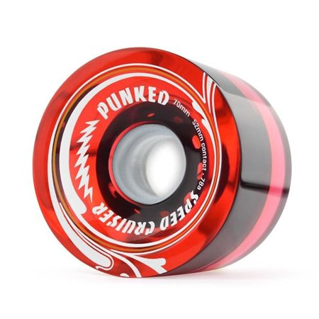 Speed Cruiser Speed Cruiser 70mm Longboard Wheels - Gel (Best Longboard Wheels For Speed)