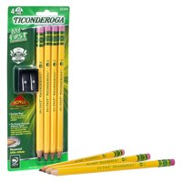 My First Ticonderoga 4 count with bonus sharpener
