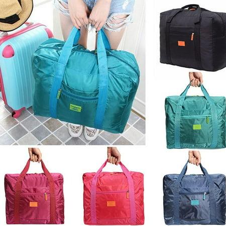 1Pc Big Foldable Travel Bag Storage Luggage Carry-on Organizer Hand Shoulder