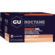 Gu Roctane Energy Gel, Vanilla Spice, 24 Ct