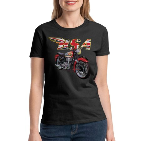 BSA Motorcycles British Flag Women