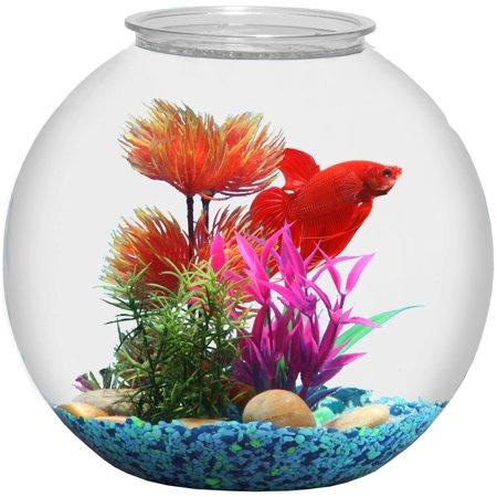 Hawkeye 3 Gallon Fish Bowl Bubble Shaped Shatterproof