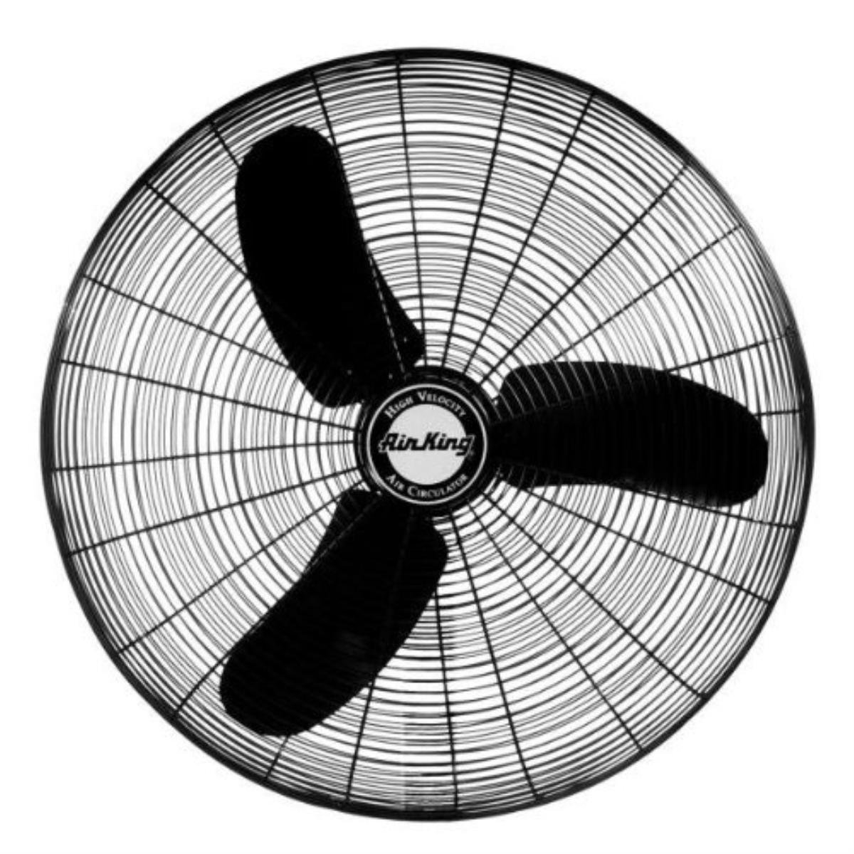 "Air King 9174H 24"" 1/3 HP Oscillating Industrial Grade High Velocity Fan Head"