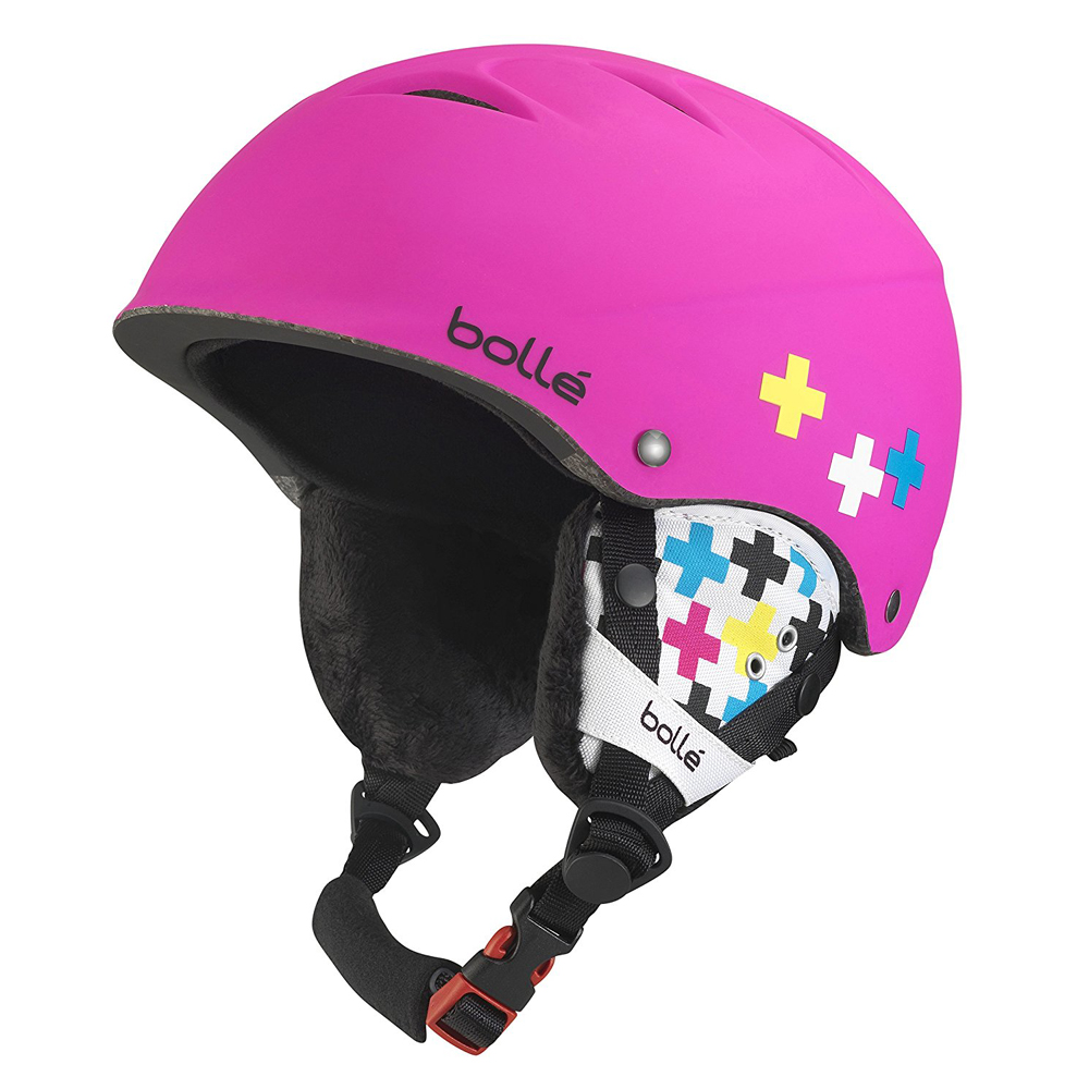 *Bolle Helmets 30994 Soft Pink Cross 53-57cm B-Free by Bolle