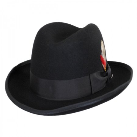 Made in the USA - Classics Godfather Hat by Jaxon and James - XL - Black