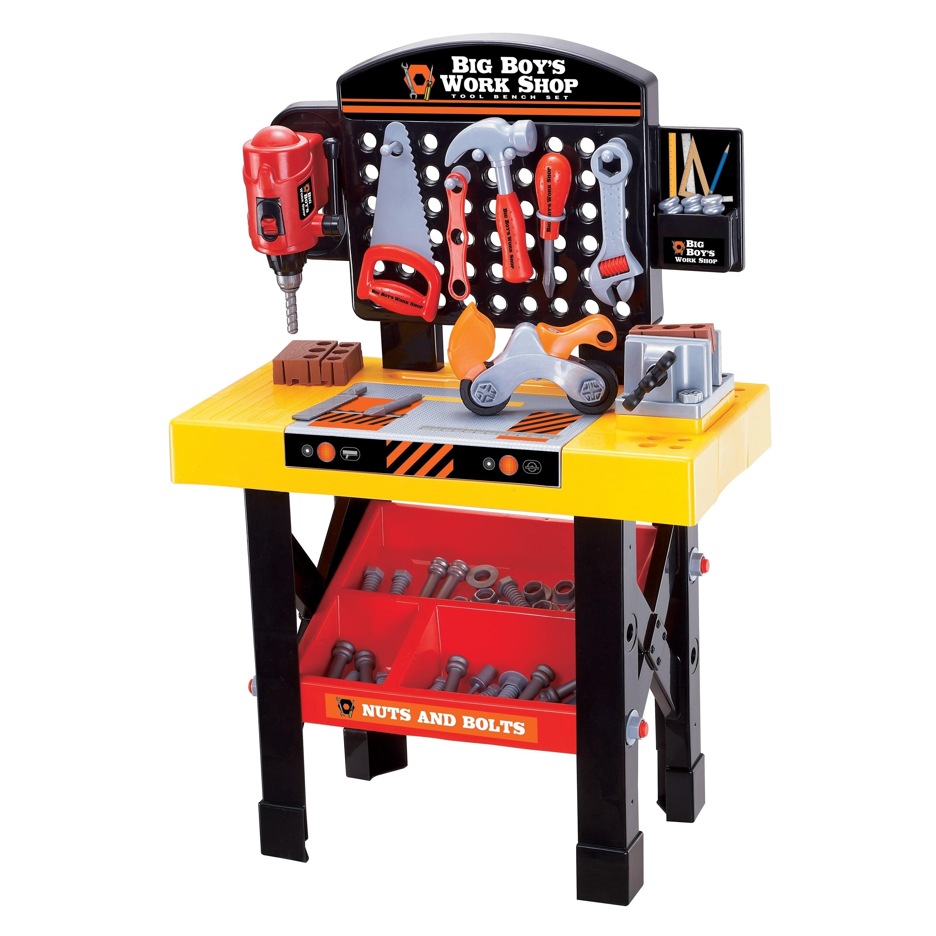 World Tech Big Boy's Work Shop 54-piece Tool Bench Set