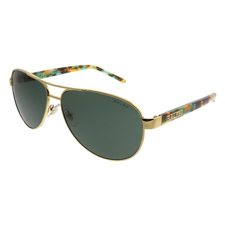 Ralph Lauren RA4004 900471 Gold Aviator Sunglasses ()