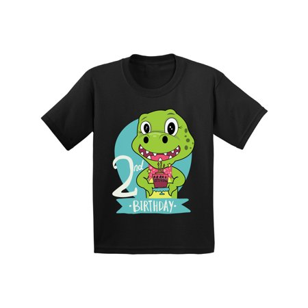 Awkward Styles Dinosaur Birthday Toddler Shirt Gifts for 2 Year Old Birthday Boy Shirt 2nd Birthday Girl Outfit Dinosaur Gifts for Toddler Dinosaur Themed Birthday Party 2nd Birthday Party